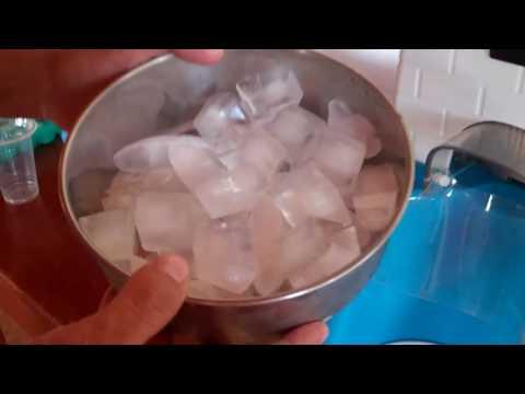 Máquina Raspadillera ice shaver machine