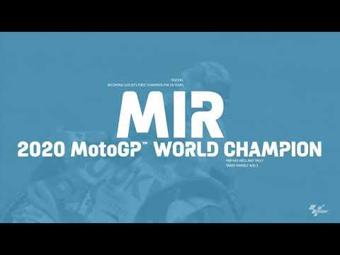 スズキのジョアン・ミルがワールドチャンピオンに!MotoGP2020のスズキの奇跡をまとめた動画