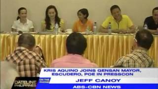 Kris Campaigns For Chiz, Grace In GenSan