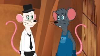 2 Fables De La Fontaine   Le Lion Et Le Rat + Le  Rat Des Villes Et Le Rat Des Champs
