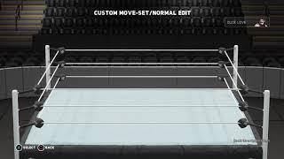 Dude Love WWE 2K18 updated move-set