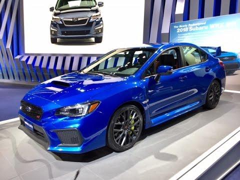 2018 Subaru WRX STI – Redline: First Look – 2017 NAIAS