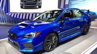 2018 Subaru WRX STI – Redline: First Look – 2017 NAIAS