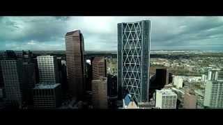 Stock Footage - Calgary Tower/Downtown - Calgary, Alberta, Canada [UHD 4K]