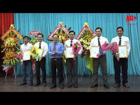 Họp mặt kỷ niệm 93 năm ngày Báo chí cách mạng Việt Nam và trao Giải báo chí tỉnh lần III-2018
