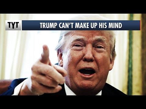 Trump Flip-Flops On Stimulus