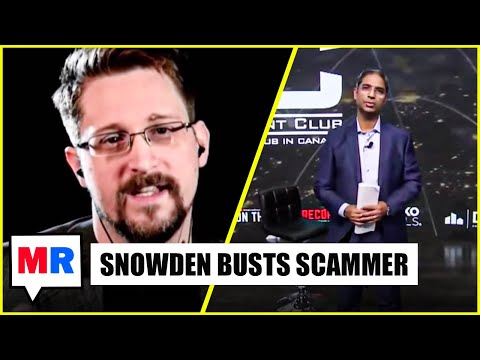 Snowden EXPOSES Grifter During Live Stream