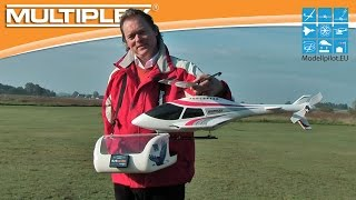 FUNCOPTER MULTIPLEX RC MODEL HELICOPTER VIDEO TESTREPORT