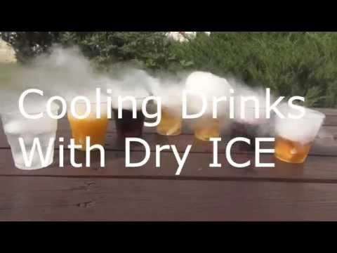 Video DRY ICE in DRINKS