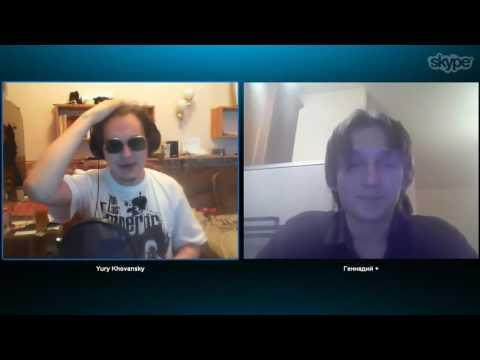 Rickey F и ХОВАНСКИЙ о верующих в Skype ( РИКИ Ф НЕ ВСЕГДА БЫЛ СМЕШНЫМ?)