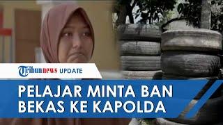 VIRAL Kisah Pelajar SMA Minta Ban Bekas dengan Modal Nekat Chat Kapolda Aceh, Ini Alasannya