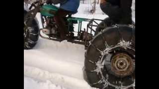 Как сделать вездеход из мотоцикла урала