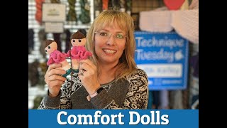 Quick and Easy Knitted Comfort Dolls + New Jogless Stripe Technique