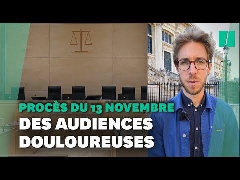"""Au procès du 13 novembre, le retour de """"scènes de guerre"""" en sons et images"""