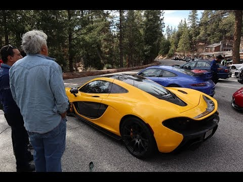 Driving With Jay Leno And His McLaren P1!!!