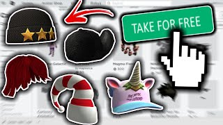 *NEW!* HOW TO GET ANY OF THESE ITEMS FOR FREE! (ROBLOX 2020)