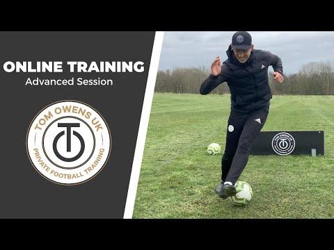Online Football Training Session | Advanced | @TOMOWENSUK