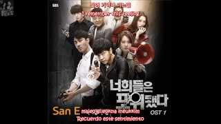 SAN E (FEAT. KANG MIN HEE OF MISS $) -- WHAT'S WRONG WITH ME? (나 왜이래) - Sub Esp+Eng+Hang+Rom
