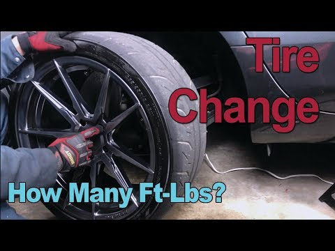 How To: Tire Change Cadillac CTS/ATS