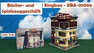 Review - Spielwaren- und Büchergeschäft - Toystore & Bookstore Xingbao - XBA 01006