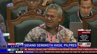 Saat Ketua KPU Bertanya kepada Saksi Prabowo-Sandi