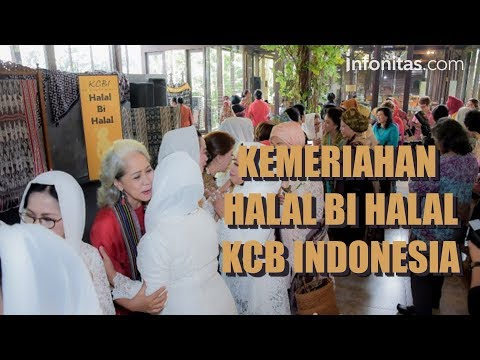 Kemeriahan Halal Bihalal KCB Indonesia