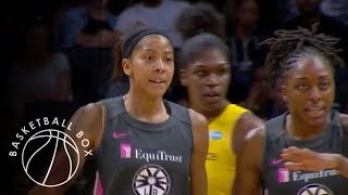 [WNBA] Indiana Fever vs Los Angeles Sparks, Full Game Highlights, August 22, 2019