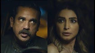 """كوميديا سليم الأنصاري وليلى ... """" أنا على أخري هفجر العربية بينا إحنا الثلاثة """" ???? #كلبش2"""