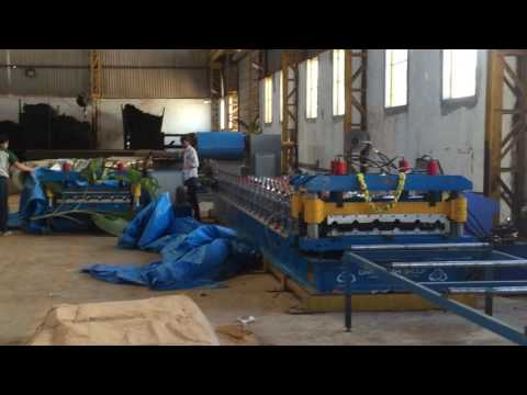 Heavy Duty Tile Roll Forming Machine