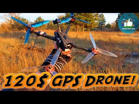 ✔ Самый Дешевый FPV Long Range Квадрокоптер с GPS - Eachine Tyro129 7 Inch!