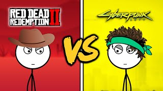 Red Dead Redemption 2 Gamers VS Cyberpunk 2077 Gamers