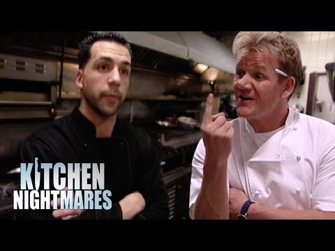 Arrogant Chef Refuses to Taste His Own Food | Kitchen Nightmares