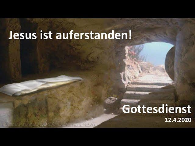 """Ostersonntag 2020 """"Überrascht von Jesus"""""""