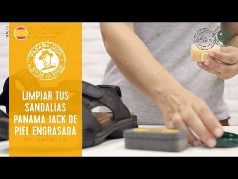 Cómo limpiar tus sandalias de hombre Panama Jack de piel Engrasada