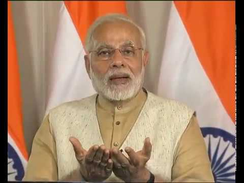 PM Modi addresses a Youth Convention in Karnataka on 'Youth Power: A Vision for New India.' via VC