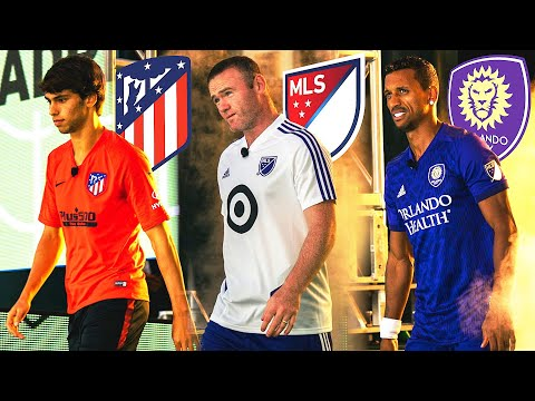 JOAO FELIX VS ROONEY VS NANI | MLS ALL STAR SKILLS CHALLENGE ⚽🎯🔥