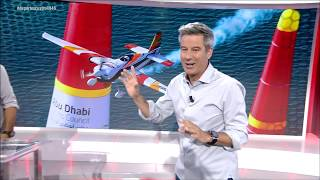 Juan Velarde y la Red Bull Air Race en Cuatro