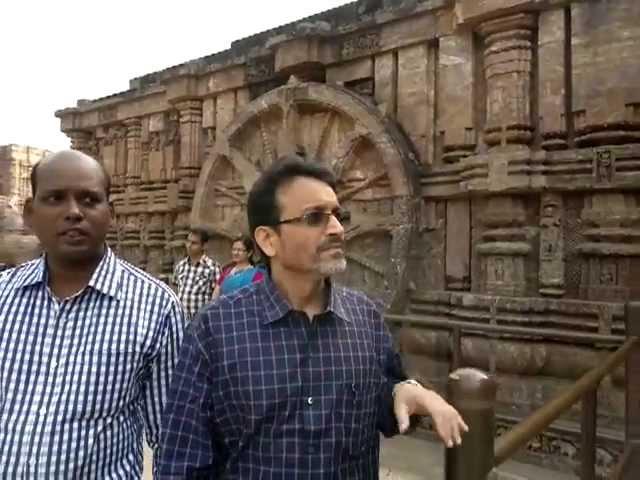 Visit to Konark Temple