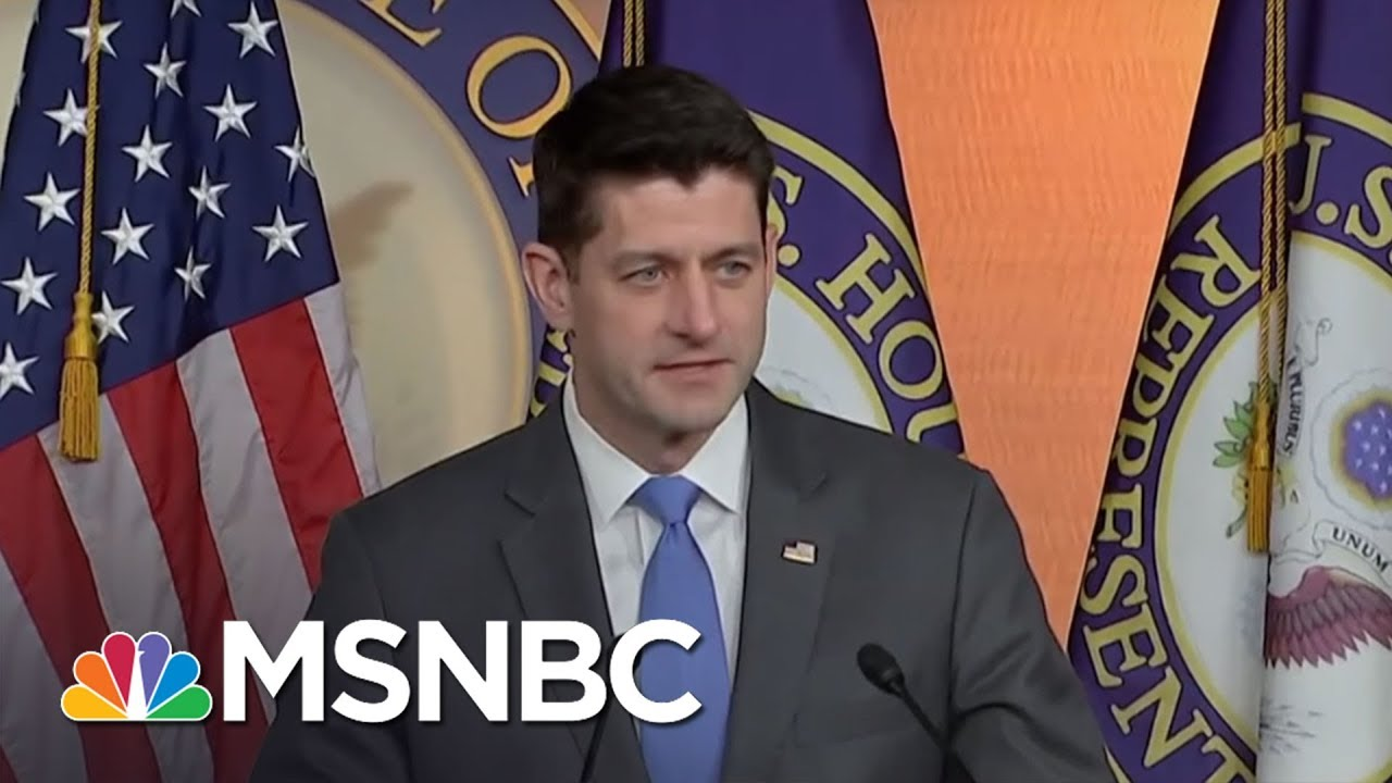 Joe: Paul Ryan Abandons Ship As Ship Hits An Iceberg | Morning Joe | MSNBC thumbnail