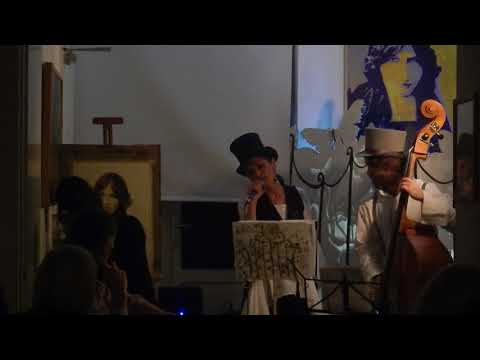 Preview video Jeanne Hebuterne: Letture, cena e musica francese.