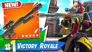 *NEW* HEAVY SNIPER RIFLE ADDED TO FORTNITE BATTLE ROYALE!