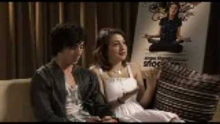 Аарон Джонсон, Aaron Johnson and Georgia Groome Interview [ Angus Thongs and Perfect Snogging ]