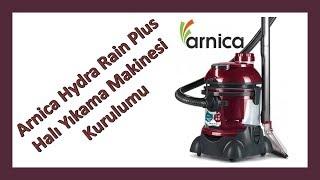 Arnica Hydra Rain Plus / Hydra Rain Halı Yıkama Makinesi Kurulumu