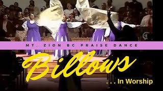 Praise Dance with Billows ~ The Blessing (Is On You) by Donald Lawrence