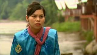 Malaysian woman caning