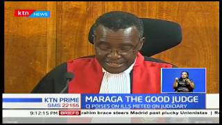 Is CJ David Maraga on a mission to be in government's good books?