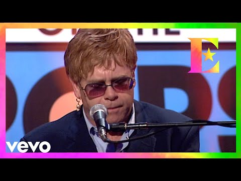 Elton John - Border Song (TOTP Performance)
