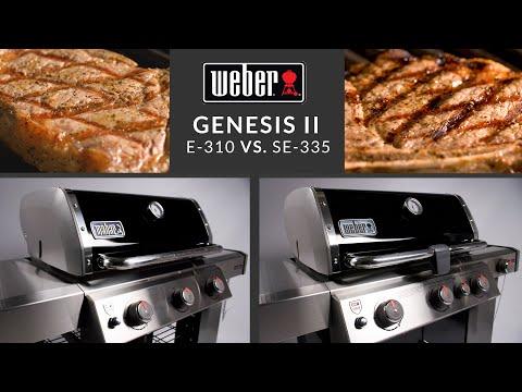 Weber Genesis II E-310 vs SE-335 Special Edition Grill Comparison