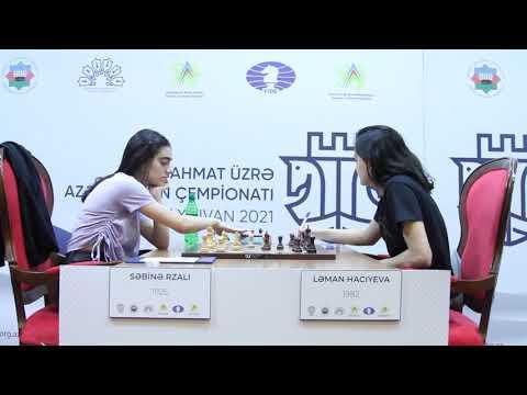 Qadınlar arasında Şahmat üzrə Azərbaycan çempionatı- Naxçıvan 2021 (8-ci turdan video icmal) 1