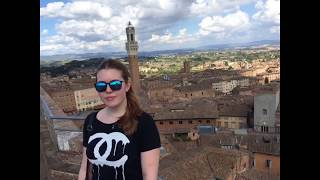 preview picture of video 'Tourist day around Siena'